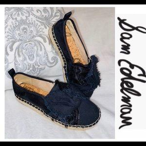 Sam Edelman Black Slip on Shoes sz 8.5